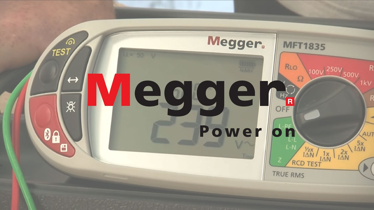 Automobile - Megger MFT1800 Multifunction Tester