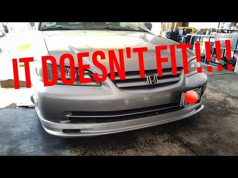 Honda Accord Rebuild Episode 5: NO LIP FITS!?!?!?