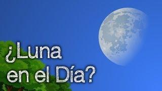 ¿Por qué Podemos Ver La Luna de Día?
