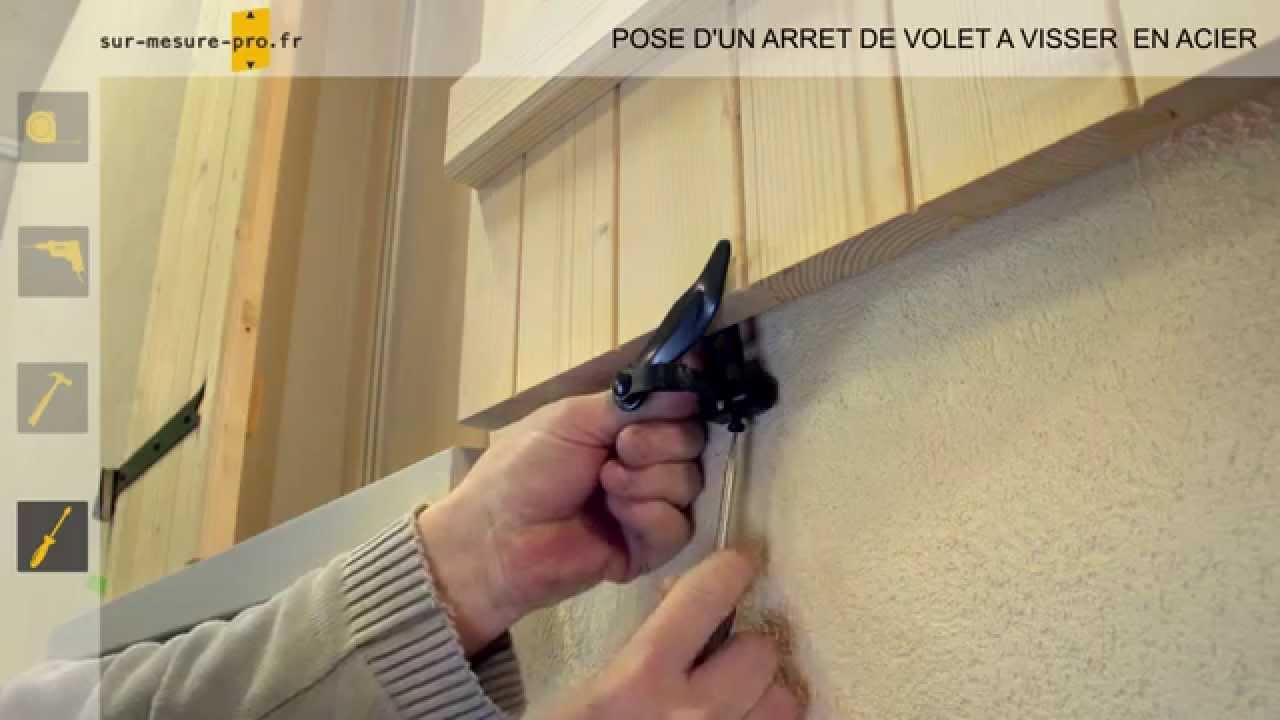 Pose Arret De Volet A Visser Par Sur Mesure Pro Fr Youtube