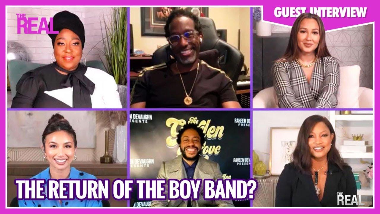 Part Two: An R&B Supergroup? Shawn Stockman, Raheem DeVaughn, Sisqó & Omar Wilson Weigh In!