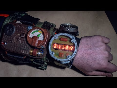 HOW TO MAKE NIXIE WATCH AND GEIGER COUNTER FROM METRO EXODUS