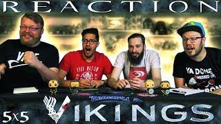 """Vikings 5x5 REACTION!! """"The Prisoner"""""""
