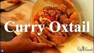 Sunday dinner curry oxtail how to seasoning YOUR OXTAIL  | Chef Ricardo Cooking