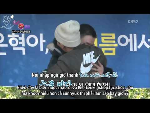 [JHH][Vietsub] Donghae Eunhyuk nhập ngũ