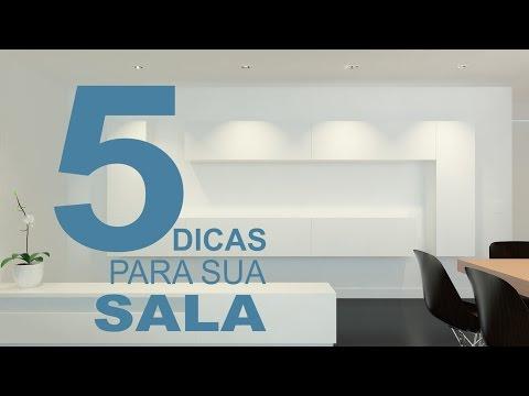 5 dicas pra sua sala | Decoraçao e design de interiores