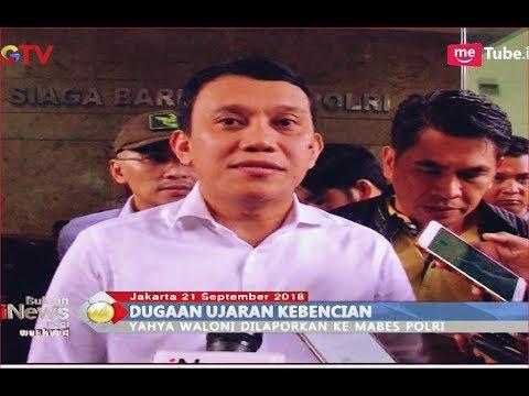 PKB Resmi Laporkan Ustaz Yahya Waloni ke Bareskrim Polri - BIP 22/09