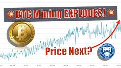 BREAKING NEWS! Bitcoin Mining EXPLODING! BTC Price BOOM or DUST? U.S. Dept. Of Treasury CRACKDOWN!