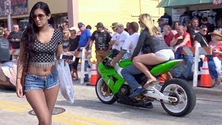 Motorcycle Rally Greatest Moments | Daytona Bike Week