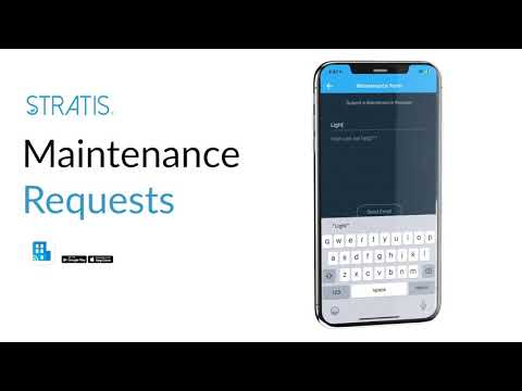 STRATIS Mobile: Maintenance Requests