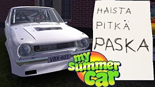 My Summer Car Türkçe // MAHMUT USTA ARACIMI ÇALIP NOT BIRAKTI #45