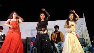 Taluku Taluku Chinnadi Song Beautiful Girls Dance Performance in Musical Night