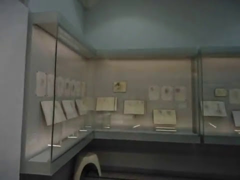 Roy Eastland sketchbooks exhibited in The Drawing Room gallery  of The Beaney in Canterbury