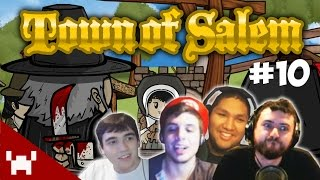 JESTER ONCE MORE (Town of Salem QUAD FACECAM w/ The Derp Crew Ep. 10)
