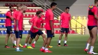 FC Barcelona training session: Training continues at Ciutat Esportiva