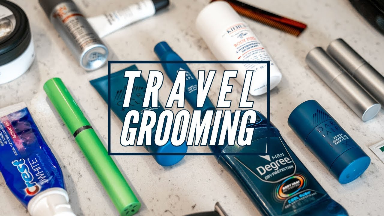 My Travel Grooming Essentials || What's in my Dopp Kit? || Gent's Lounge 2019