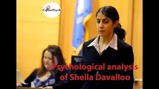 Psychological Analysis Of Sheila Davalloo Erin caffey, e y caffey. psychological analysis of sheila davalloo
