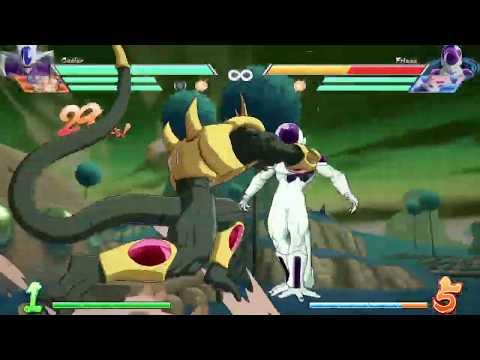DBFZ Cooler new corner sparking loop 57 hits (No assist no DHC)