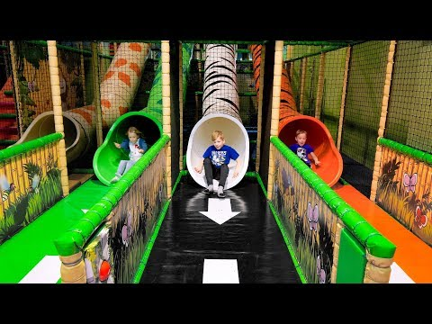 Fun at Leos Lekland Indoor Playground for Kids
