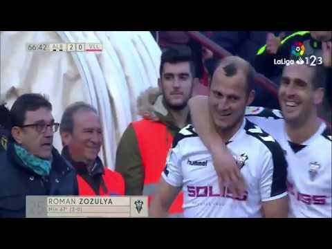 Albacete vs Valladolid 2-1 Resumen & Goles / Liga Adelante 09-12-2017