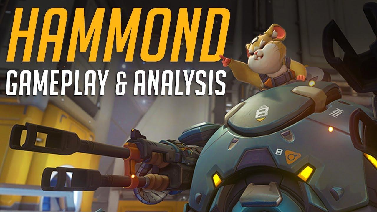 New Overwatch Hero Hammond
