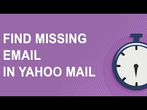 Find Missing Email In Yahoo Mail (2018)