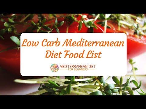 low-carb-mediterranean-diet-food-list