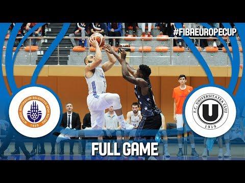 Istanbul BBSK (TUR) v U-BT Cluj Napoca (ROU) - Full Game - FIBA Europe Cup 2017-18