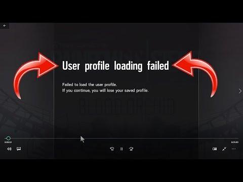 USER PROFILE LOADING FAILED FIX!!! (Rainbow Six: Siege)