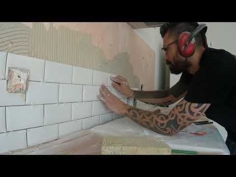 Carreler Un Dosseret De Cuisine Video Bricolage Gamma