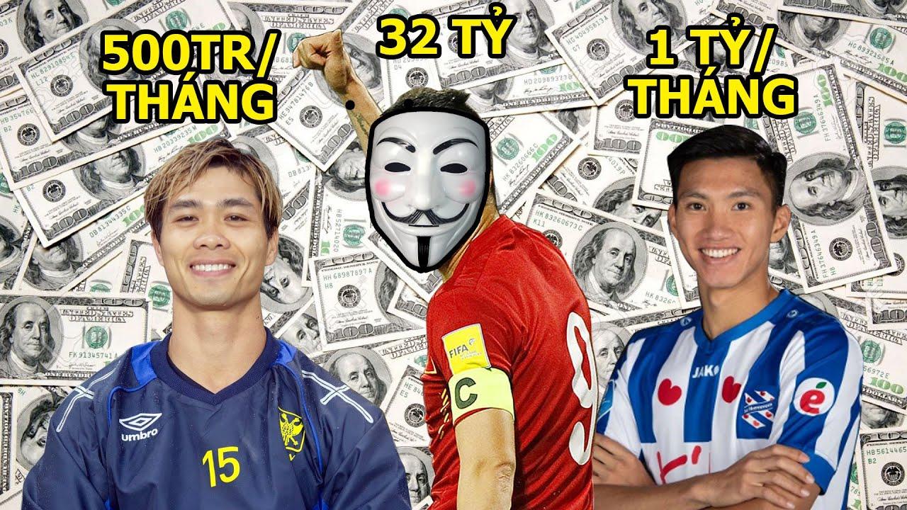 7 cầu thủ có MỨC LƯƠNG CAO NHẤT lịch sử bóng đá Việt Nam (K ngờ Quang Hải đứng cuối cùng)