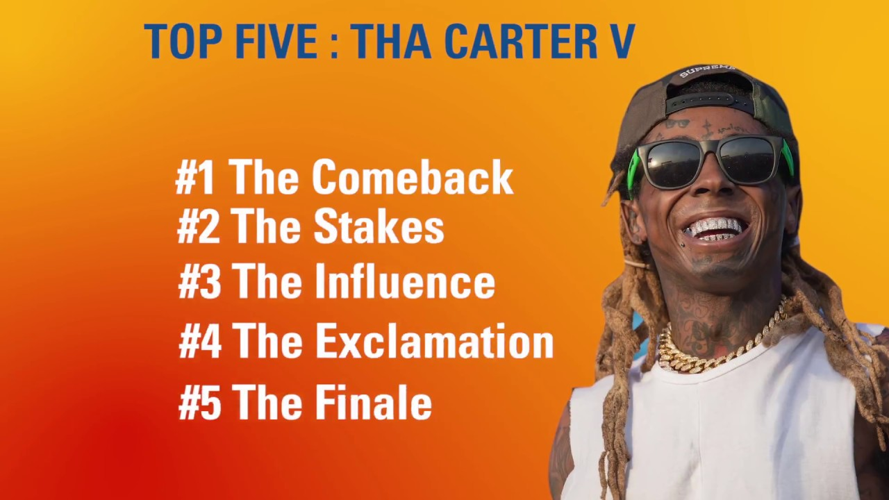 2484869105fe4 Top 5 Reasons Why Lil Wayne Tha Carter 5 Is A Must Listen - YouTube
