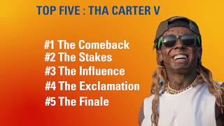 Top 5 Reasons Why Lil Wayne Tha Carter 5 Is A Must Listen