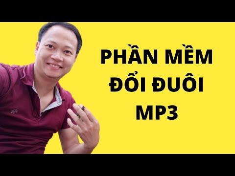 Phần mềm đuổi các định dạng đuôi sang MP3 rất tiện - MIỄN PHÍ