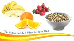 Get Heart Healthy with Soluble Fiber