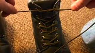 How to tie paracord and shoe laces tight