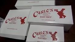 Cake Boss Carlo's Bake Shop Desserts Haul