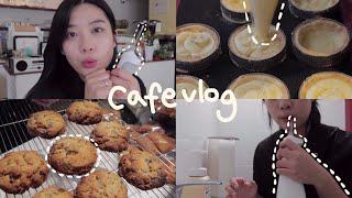 Eng) cafe vlog •디저트 카페 사장의 일상,…