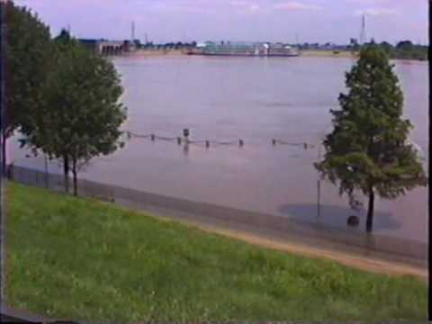 Route 66 St. Louis, MO The Great Flood of 1993