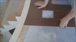 Installing Hardwood Floors Around Rounded Stair Nosing