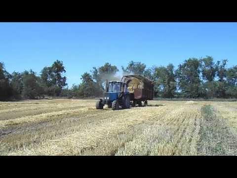 Трактор Беларус-892 и КИР-1.5. с.Дмитровка