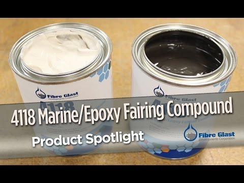 Marine/Epoxy Fairing Compound