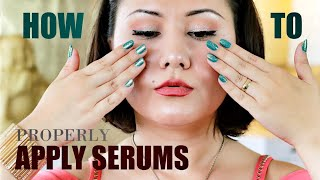 HOW TO *Properly* APPLY SERUMS…