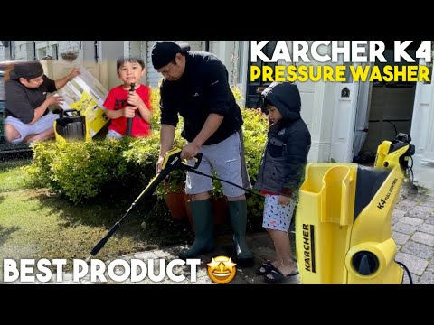 KARCHER K4 FULL CONTROL PRESSURE WASHER | UNBOXING, ASSEMBLING & REVIEW | LIFE IN ABROAD