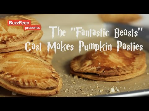 "Thumbnail: The Cast Of ""Fantastic Beasts"" Makes Pumpkin Pasties"