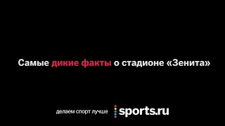 Самые дикие факты о стадионе «Зенита»