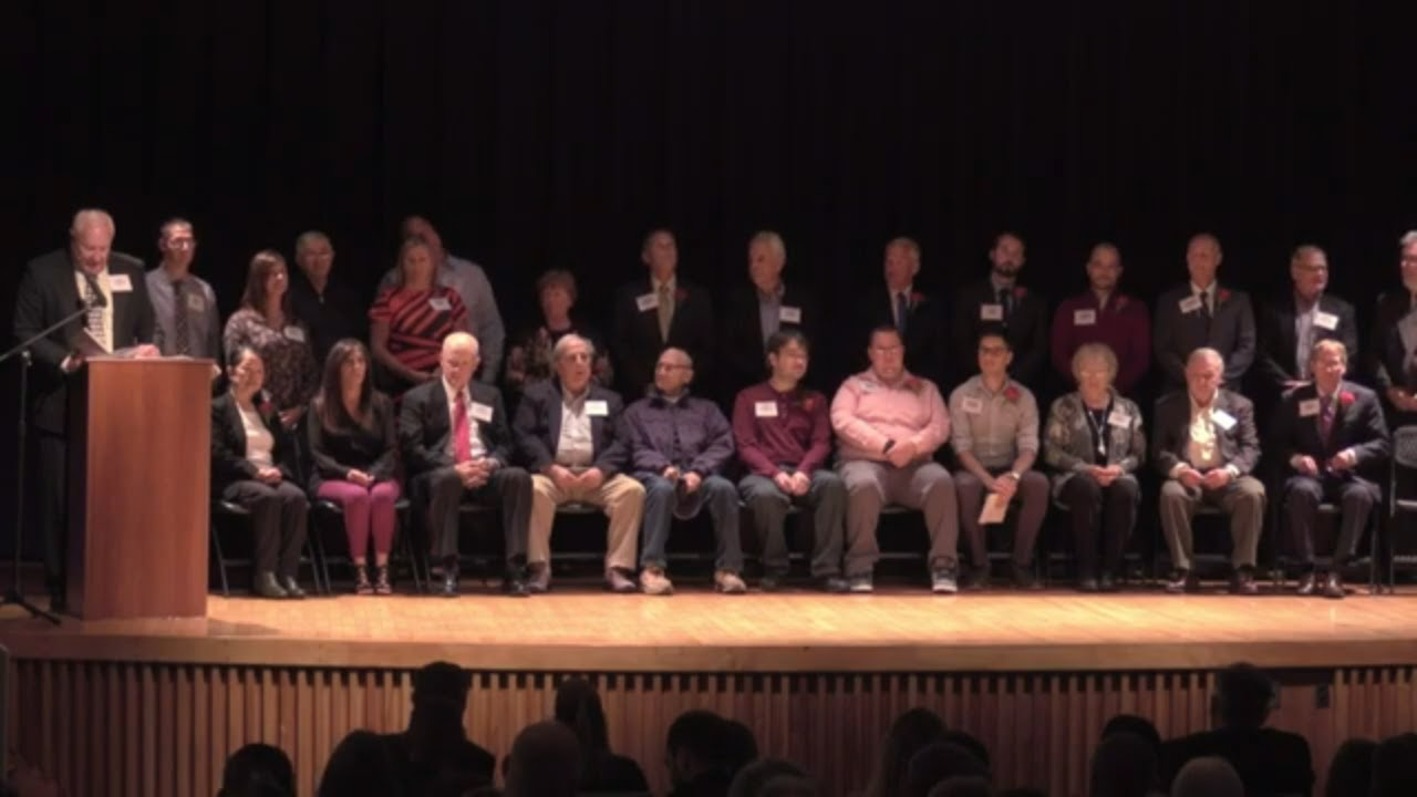 Mynderse Academy Athletic Hall of Fame 2019 Induction Ceremony (webcast replay)