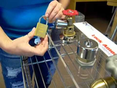 Hose Bibb Lock Demo.mov - YouTube