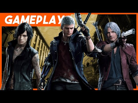 Devil May Cry 5 Preview - 9 Minutes Of Dante, Nero, And V In Action thumbnail