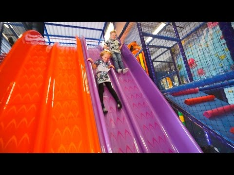 Indoor Playground Fun for Family and Kids at Exploria Play Center
